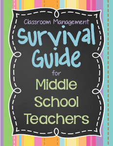 NEW Middle School Teacher's SURVIVAL GUIDE, Part 1