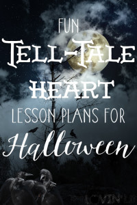 More Halloween Fun ~ The Tell-Tale Heart {Peek at My Week}