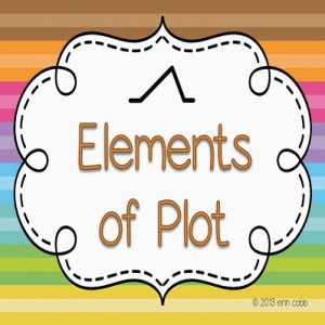 Saints Victory Freebie #6! Elements of Plot Poster Set!