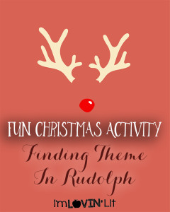 Fun Christmas Activity ~ Finding Theme! Workshop Wednesday & Peek At My Week
