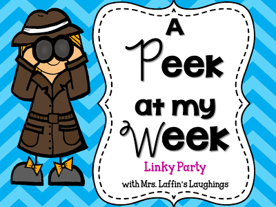 Peek At My Week ~ Closing Out the School Year!