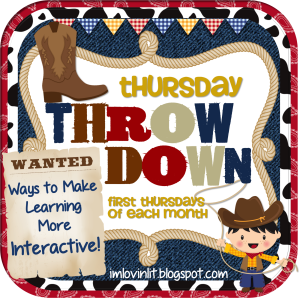 Thursday Throw Down: Informational Text Close Reading & Interactive Literature Circles