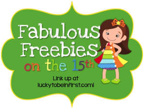 Fabulous Freebies on the 15th! ~ Five for Friday