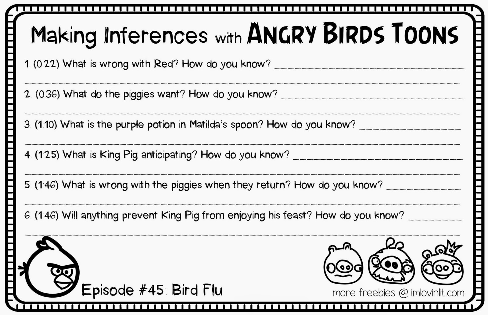 Teaching Inference Middle School Lawteched – Inference Worksheets Middle School