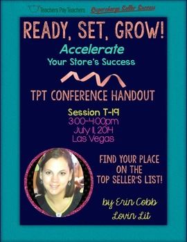 TpT Conference Presenter Blog Hop