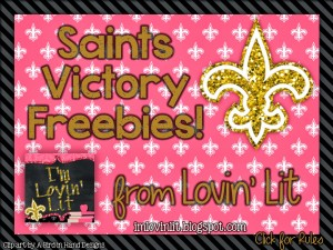 Saints Victory Freebies are BACK and BETTER THAN EVER!