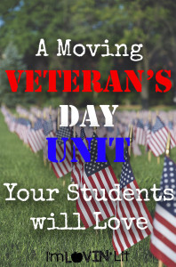 Veterans Day Lessons Your Students LOVE