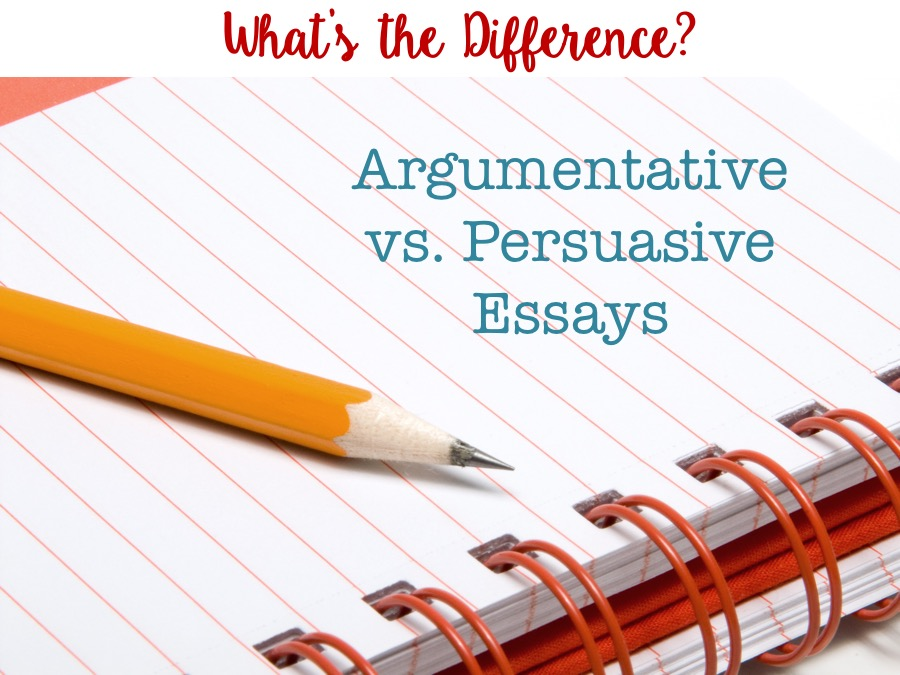 differences between argumentative and persuasive essay