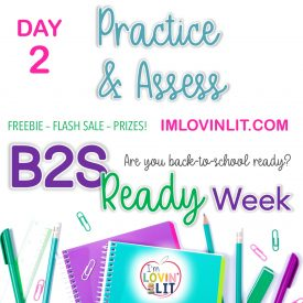 B2S Ready Week, Day 2: Practice & Assess!