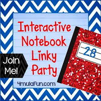 Interactive Notebook Linky Party ~ Five for Friday!