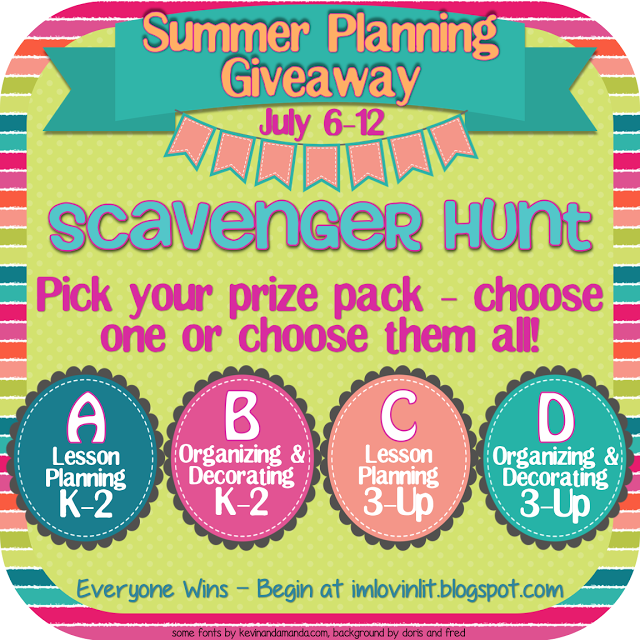 Summer Planning Giveaway! Everybody Wins!