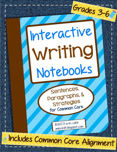 Interactive Writing Notebooks ~ Win it Before You Can Buy It!