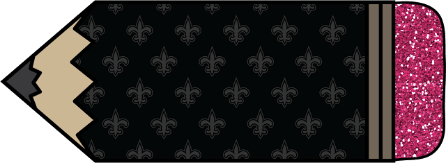 WHO DAT! Victory Freebie #1 ~ Fat Pencils Clip Art Set