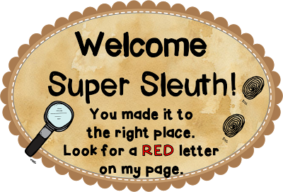 Super Sleuth Blog Hop – FREE Context Clues Interactive Notebook Lesson!