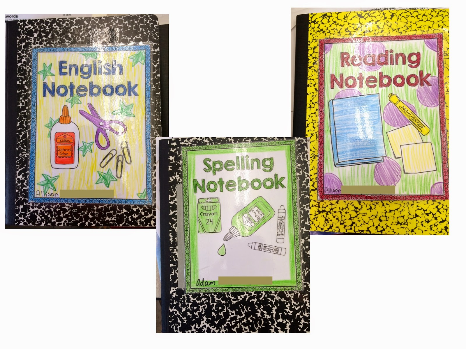 Back to School 2014! Setting Up Interactive Notebooks