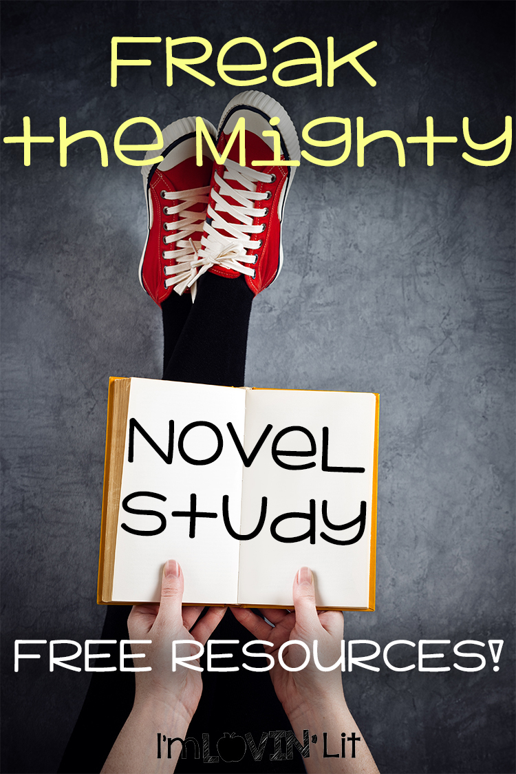 Freak the Mighty Novel Study – FREE Quizzes, + Sentence Writing