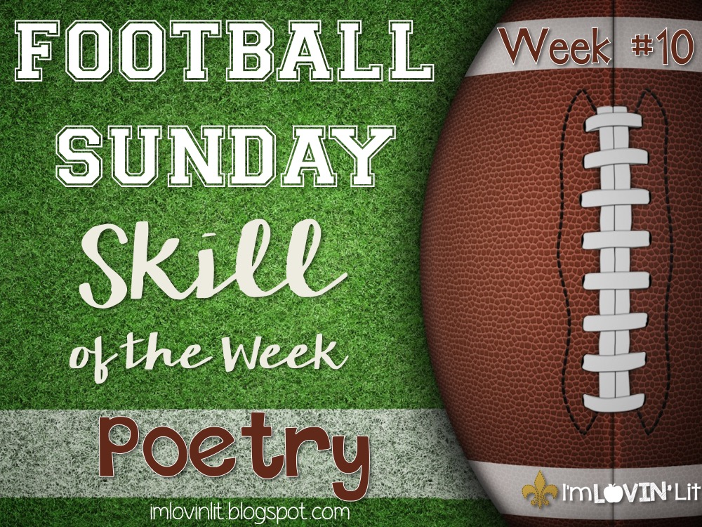 Poetry: Football Sunday Skill of the Week