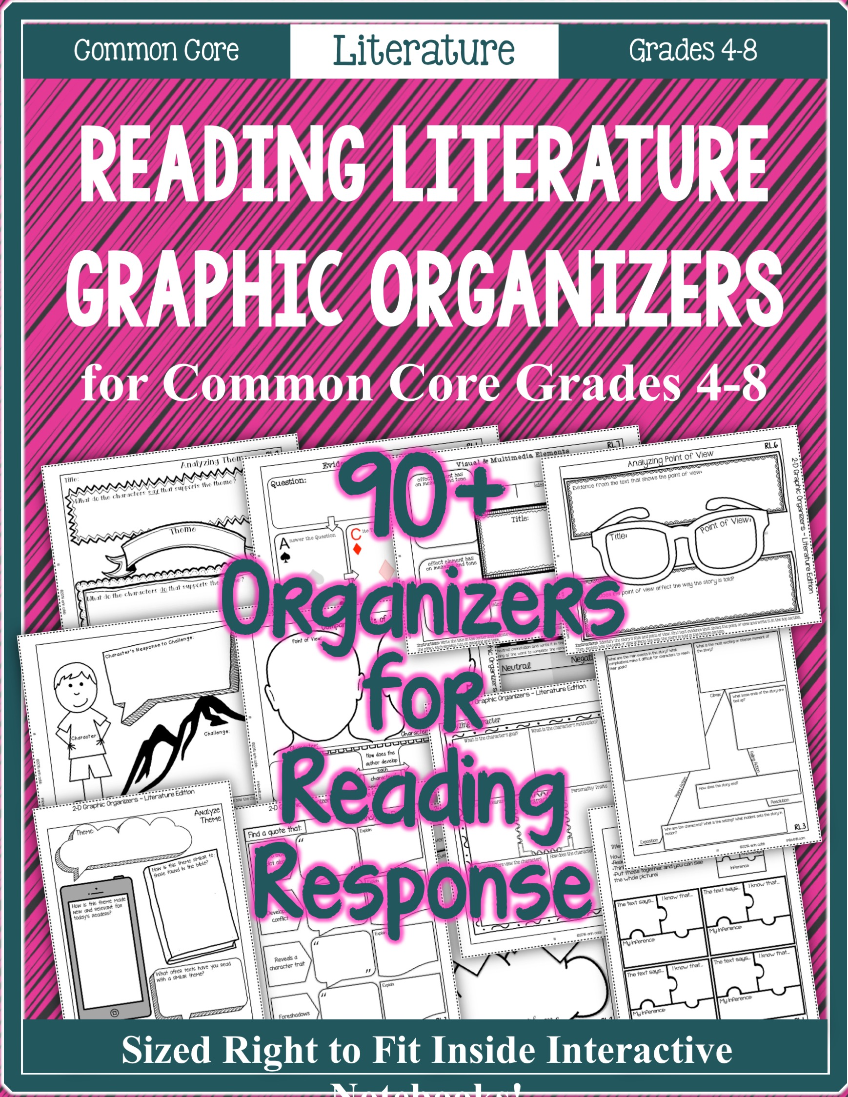 Literature Graphic Organizers – LEAP DAY Blog Hop!