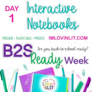 B2S Ready Week, Day 1: Interactive Notebooks!