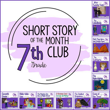 Short Story Units For Middle School Short Story Of The Month Club 7th Grade